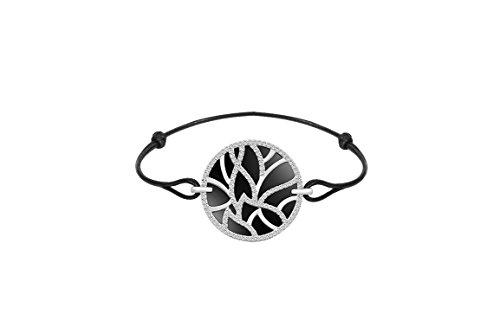 Ceranity - Bracelet cordon - Argent 925 - Oxyde de Zirconium - 25 cm - 1-32/0045-N