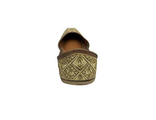 Step n Style Bridal Flats Wedding Shoes Indian Designer Shoes Punjabi Jutti Sandals ylYwBH5rOc