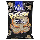 wise hot cheese popcorn - Wise Premium Popcorn, White Cheddar Flavored, 7 oz, (pack of 3)