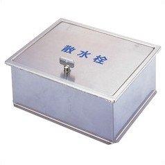 サヌキ ステンレス製 散水栓ボックス 床用 丸棒鍵付 SB24-11 B010PBH4VQ