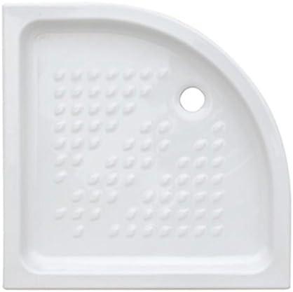 Plato ducha semicircular 90 x 90 de cerámica: Amazon.es: Bricolaje ...
