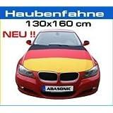 DEUTSCHLAND MOTORHAUBENFAHNE HAUBENFAHNE MOTORHAUBE FAHNE FLAGGE