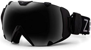 4cc33af6ce8 Amazon.com   Zeal Optics Unisex Eclipse Matte Black W Dark Grey Polarized  Goggles   Sports   Outdoors