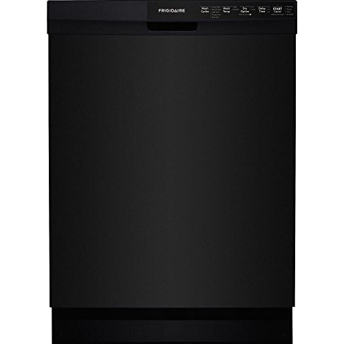 Frigidaire FFBD2412SB 24″ Built-in Dishwasher with 14 Place Setting Energy Saver Plus Cycle SpaceWise Silverware Basket and Delay Start in