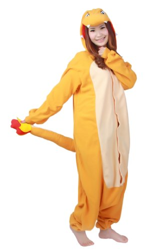 Charmander Adult  Unisex  Pokemon  Costume from TEE Costumes