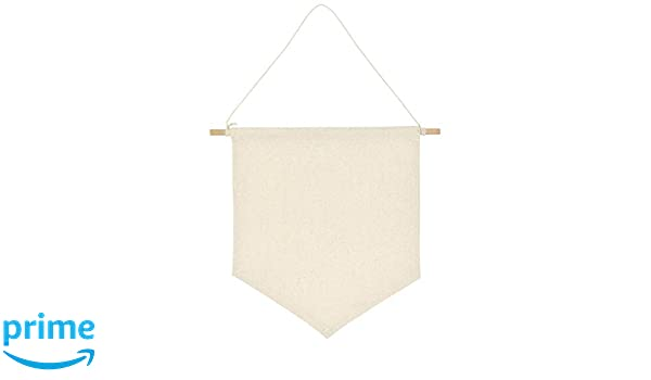 Teensery 2 Pcs Pin Wall Display Banners Blank Canvas Enamel Pin Lapel Badge Collection Display Pennant Banner for Home Decorations 10.8 x 9.6 Inch