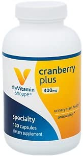 The Vitamin Shoppe Cranberry Plus 400MG