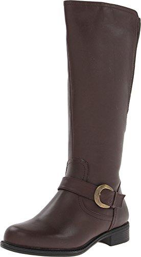 David Tate Womens Branson - Extra Wide Shaft Brown Boots 10 M (B)