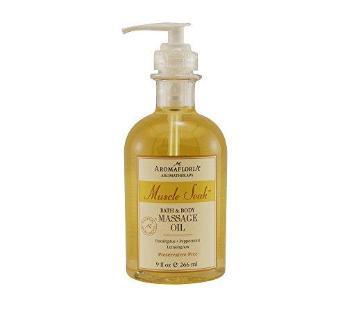 Aromafloria Muscle Soak Eucalyptus Massage Oil