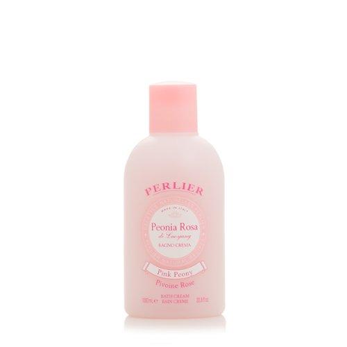 Perlier Pink Peony Peonia Rosa Bath Cream 33.8 Fl Oz - 1 Liter