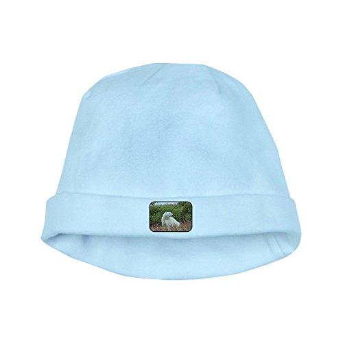 Truly Teague Baby Hat Polar Bear On Canadian Tundra - Sky Blue ()