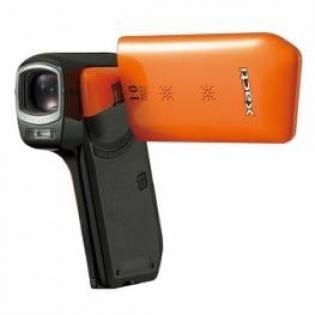 Sanyo Xacti CG10 Dual Camera HD Flash Memory Camcorder with 5x Optical Zoom (Orange)