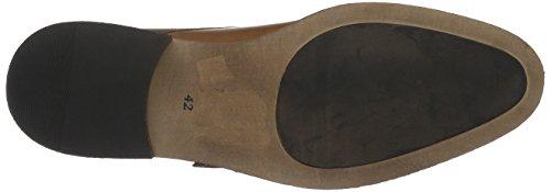 BIANCO Double Monk Loafer Jja16, Scarpe Stringate Uomo Marrone (Braun (24/Light Brown))