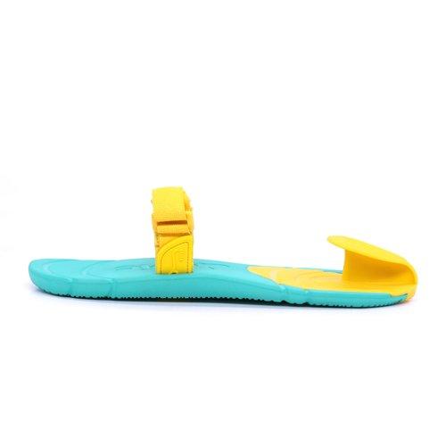 Xing Lin Sandalias De Cuero En El Campo De Verano Y Sandalias De La Marca De Marea Hombres Zapatillas Parejas Calzado De Playa, Antideslizante El Cuero Zapatillas Zapatillas Chica 35 S, Frijoles, Verd