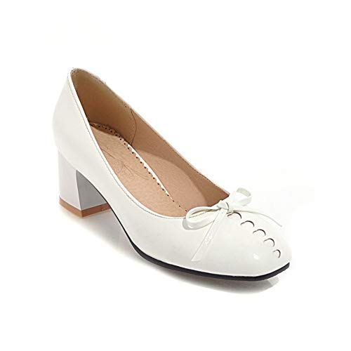 Compensées BalaMasa Blanc Blanc Femme Sandales APL10579 5 36 88wqEf4R