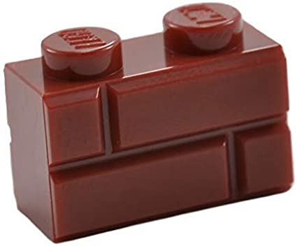 50 NEW LEGO Plate 1 x 2 BRICKS Dark Orange