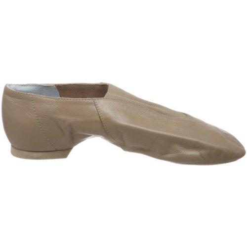 Bloch Dans Kvinna Super Jazz Jazz Shoe Taupe