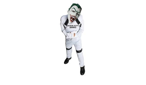 Disfraz de Joker de prisionero de Arkham para niño: Amazon.es ...
