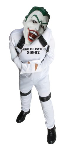 DC Super Villain Collection Joker Straight Jacket Costume, Medium -
