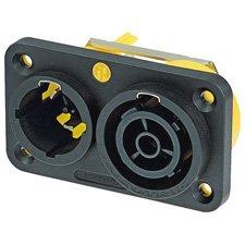 Neutrik NAC3PX powerCON TRUE1 Chassis Connector-by-Neutrik