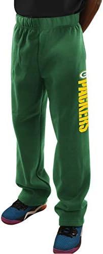 VF Green Bay Packers Majestic メンズ ビッグ&トール クリティカル ビクトリー フリース スウェットパンツ - グリーン