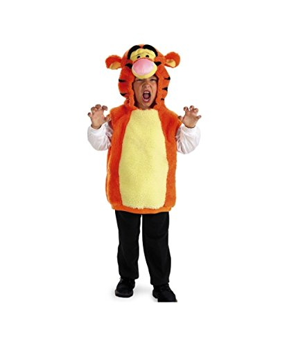 Disguise Winnie the Pooh Tigger Vest Toddler Boys Costume