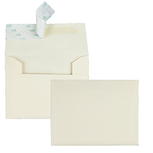 Quality Park Quality Park Ivory Greeting Card/Invite Envelopes (QUA10741)