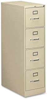 product image for HON 310 Series Vertical 4 Drawer Letter File Cabinet in Putty