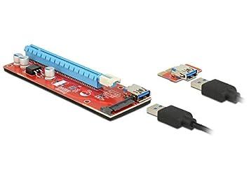 DeLOCK 41423 Interno PCI, SATA, USB 3.0 Tarjeta y Adaptador ...