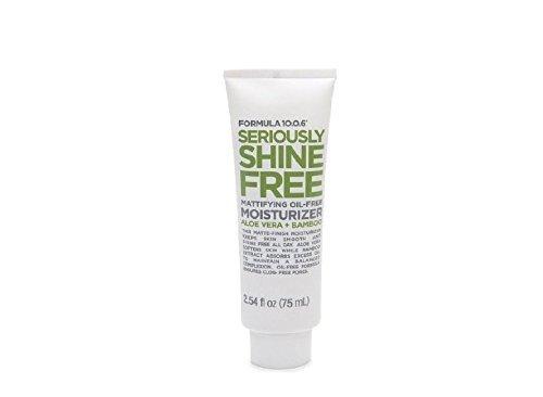 Formula 10.0.6 Seriously Shine Free Mattifying Oil-Free Moisturizer with Aloe Vera & Bamboo 2.54 fl oz (75 ml)