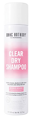 Marc Anthony Clear Dry Shampoo 3.17 Ounce (94ml) (2 Pack)