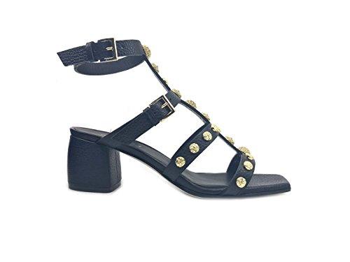 Mer Sandales Noir pour Grey Femme Bd5qF7Bw