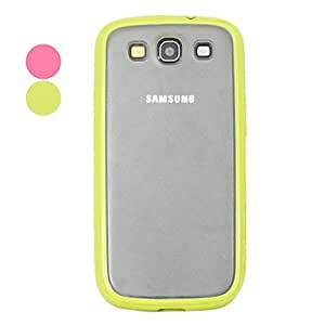 Matte Surface Hard Case dor Samsung Galaxy S3 I9300 , Rose