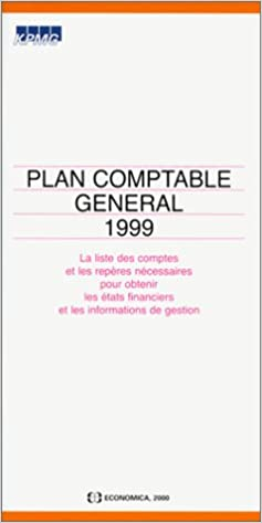 En ligne Plan comptable 1999 pdf ebook