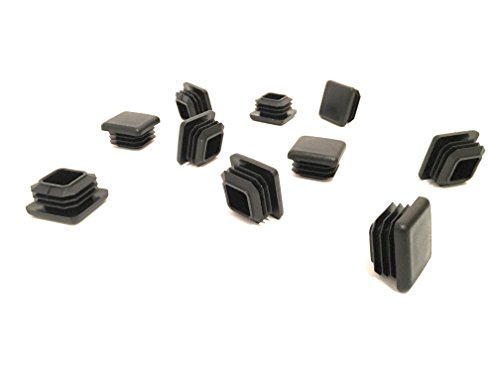 1 Inch Square Tubing End Caps (10