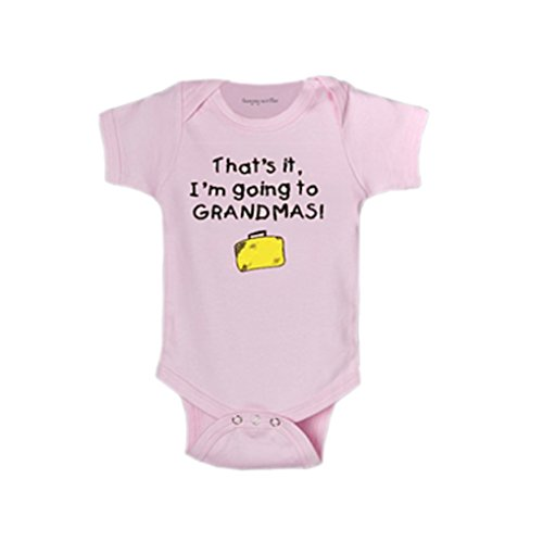 World-Accents Pink That's It, I'm Going to Grandmas! Infant One Piece Bodysuit