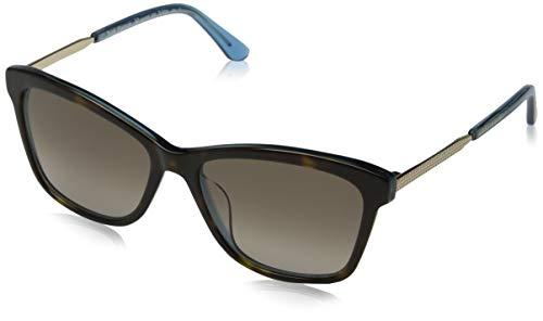 (Sunglasses Juicy Couture Ju 604 /S 0IPR Havana Blue/HA brown gradient lens)