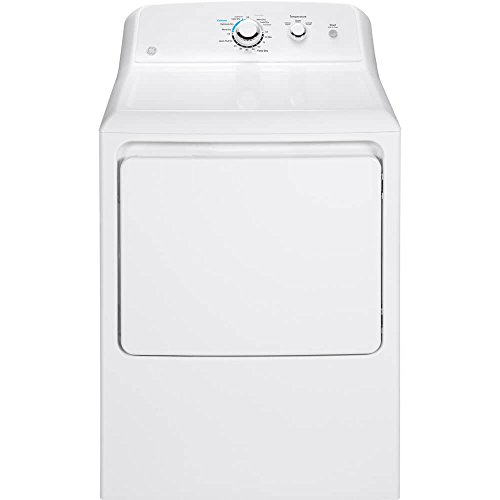 GE GTD33EASKWW 7.2 Cu. Ft. White Electric Dryer