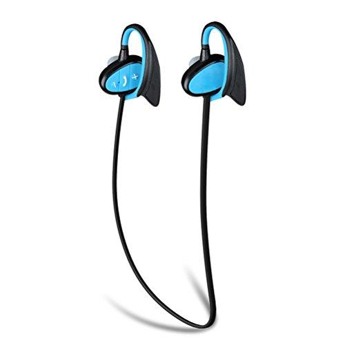 LEDMOMO Wireless Sport Headphones, IPX8 Waterproof Sport Earphone Noise...