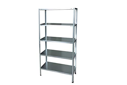 Garden Friend Metal Shelving Unit - Metallic Grey ()