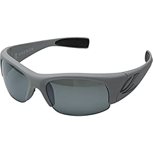 Kaenon Hard Kore Polarized Sunglasses Jm10 Matte Grey/Black Logo/Grey 12, Regular - Men's