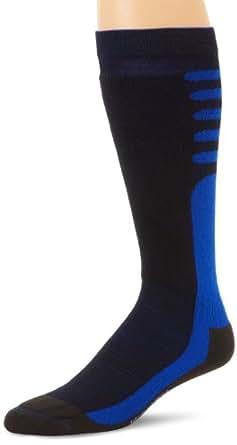 Wigwam Men's Snow Xenon Pro Socks, Black/Blue, Large