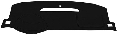 Chevy Pick-up Dash Cover Mat Pad - Fits 1967 - 1972 (Custom Velour, Black)