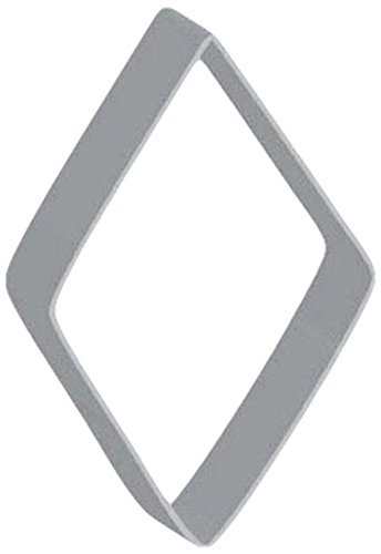 Flavortools Diamond Cookie Cutter with Exclusive Flavortools Copyrighted Cookie Recipe Booklet, 3-1/2-Inch