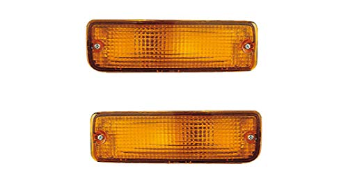 Turn Signal Light - Eagle Eyes Fit/For 81210AA011 89-95 Toyota PickUp Truck/Signal Both Pair, Left Driver Right Passenger Hand 2/4WD 90-91 Toyota 4Runner