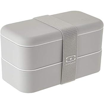 Amazon com: Monbento 1200 02 102 MB Original V Black Bento Box