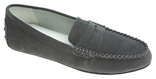 assic Suede Leather Penny Loafer Moccasin Driving Shoes ()