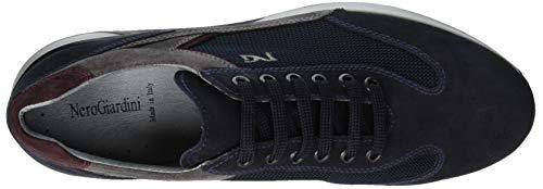 Blu T 200 Uomo Sneaker Nero Blue Infilare Camo Giardini Wave Colorado 1BH8Uq