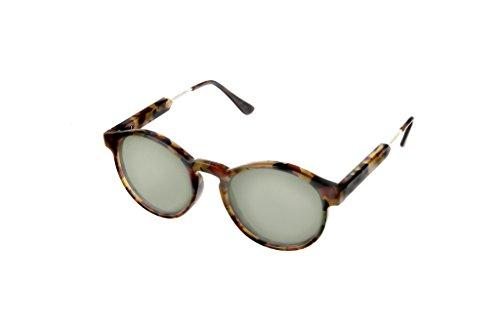 Hot Optix Ladies Fashion Round - Preppy Sunglasses