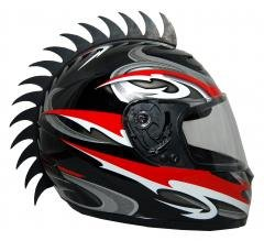 Motorcycle Dirtbike Atv Snowmobile Helmets Helmet Warhawks Mohawks Mohawk  Helmet Not Included  Saw